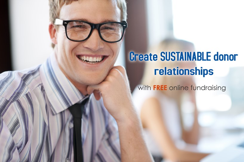 A free, innovative way to fundraise online and create sustainable donor relationships